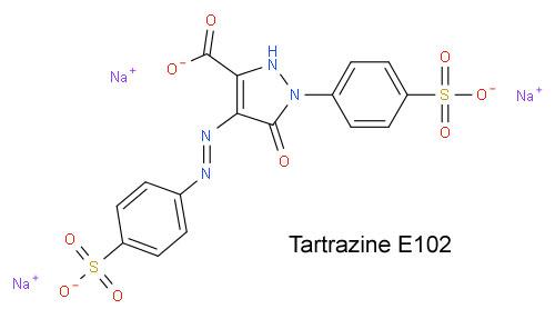 Тартразин Е102